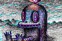 Art attack / Imagination, Expression, Creation. / by Gina Subki