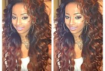 SEW IN || STYLES / Sew in styles, braid patterns , & different types of sew ins / by Kinisha Davis
