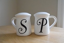 Salt and Pepper Shakers / by Diana Mae McNeil