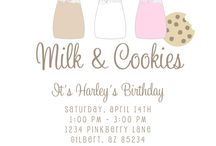 Milk & Cookies Party / by Petite Party Studio Rebecca & Shannon