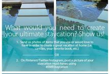 Ultimate Staycation / Items I would love to have for a great staycation. #RMRSTAYCATION / by Angie Storie