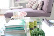 Lilac to Violet | Color Inspiration / Bedrooms, living rooms, kitchen and baths in a range of beautiful purples from the palest to the darkest. Home decor Inspiration from the world of fashion, beauty, art and more. / by Carmen @ The Decorating Diva, LLC