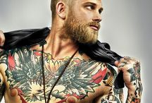 Sexy Men / Tattoos included... Shirts... Not so much... XD / by Aeon Free
