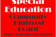 Special Education Community Pinterest Board / Resource room teachers, self-contained classroom teachers, special education teachers, autism teachers and general education teachers, parents and companies combine to offer inspiring pins and cool ideas about special learners.  Pinterest rules are that you have to be a follower of my account (AutismClassroom.com), then, just leave a comment in the comment section of any post stating that you want to join. Best Wishes! / by Autism Classroom.com (Autism Classroom)
