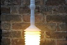 Shine a light on upcycling / A round-up of some of the best upcycled lights on the web! / by Hipcycle