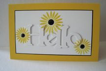 Papercrafts and cards-thinking of you/friendship / by Lori Wintrow