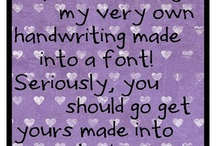 Printables, Fonts, and Flourishes / by Leslie Gutwig Younger