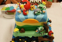 cakes / by Karen Carothers