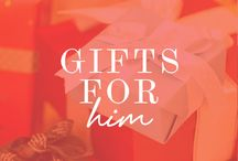Holiday Gift Guide for Him / From stocking stuffers to presents, here are great gift ideas for the guy in your life / by Makeup.com