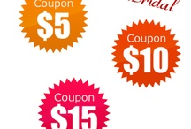 luckbridal coupon / by Luck Bridal