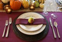 Thanksgiving Table Settings / by Nebraska Medicine