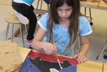 Elementary art lessons / by Elma Olalde
