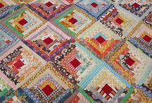 Log Cabin Quilts / by Julie Hawthorne