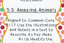 RI.1.7 Use illustrations & details to describe key ideas / Use illustrations and details in a text to describe its key ideas. / by Heather Friend Gabriele