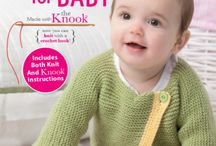 Projects for Baby Book - Knooking / Knit / by Karen Whooley / KRW Knitwear Studio