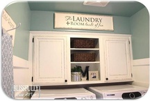 LAUNDRY ROOM & IDEAS / by Cheryl Ohms