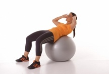 Ejercicios Fitball / Ejercicios para entrenar con la pelota suiza/fitball / by Mundo Fitness