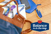 Balance is in the Bag / It's Back To School Season, Tackle Anything That Comes Your Way With Balance In Your Bag! / by Balance Bar®