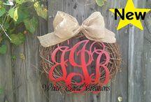 Grapevine Wreaths / by Monogram Wreaths