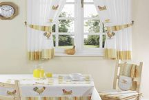 Kitchen curtains styles / Kitchen curtains styles, In renovating your kitchen or setting your new kitchen, you have to pay attention to the decorative ideas and kitchen accessories. Kitchen curtains are the most pleasing ornament that can arrest the eye in your kitchen. There are many styles of kitchen curtains that you can choose your favorite from, such as country curtains, French country curtains, three piece curtains and rod pocket tiers style. You can also use any style of valance you want as tab top, pinch pleats,  / by kitchen designs 2014 - kitchen ideas 2014 .