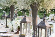 Wedding- garden romantic / A beautiful garden wedding theme / by Katee Mills