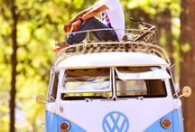 Gotta Love the VW Combi / Our Family van growing up! / by Whai Elizabeth