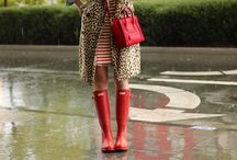 Inclement Weather / Bad weather is no excuse for poor style.  / by Emma Hacker