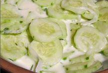 salads / by Velma Cheety