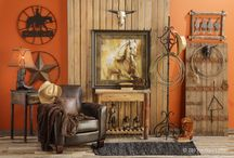 Western Retreat / Rugged and outdoorsy describes the essence of Western decor. One of the most popular ways to decorate.  Western themes create a warm, inviting feeling to your home. No matter what your budget, you can redecorate your whole house or add elements here and there to create this look.	   / by Hobby Lobby