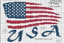 British flag union jack crochet afghan cross stitch ...