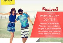Women's day contest / Participate now and stand a chance to win exciting Max gift voucher. Get started now... / by Max Fashion India