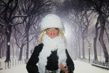 CROCHET (BARBIE DOLL CLOTHES) / by Lana Gould