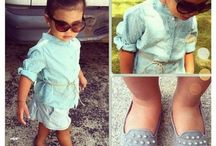Maebry's toddler outfits / by Hannah Herrington