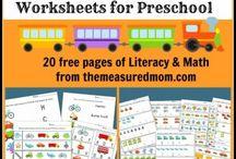 Preschool fun  / by Brittany Koneczny