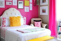Girls room ideas / by Ashley Roten