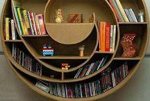Bookshelves,Nooks,Windowseats / by Marie Cole-Keene