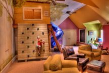 kids playroom / by Courtney Juarez