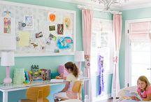 Home: Kids Bedrooms / by Jill Friend
