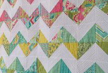 Quilts I've Made / Chevron quilt fom Moda Charm Pack. / by Hillary M Designs