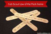 cubscout ideas / by Karen Morgan