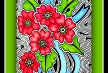 Art Doodle Floral / by Sharon Salu
