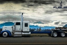 semi , Big trucks and LARGE CARS... / by steve miller