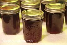 Farm-grown Recipes Muscadines / by Patterson Farm,