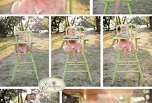 First birthday pic ideas / by Renea Gainey