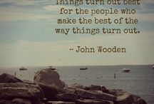 John Wooden Quotes / by Heather Rodriguez