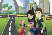 New York for Kids / Join Sam and Sofia as they take on the Big Apple! / by Little Passports