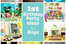 Gavin's 1st Birthday / by Megan Dever