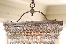 Chandeliers, Lamps / by Pascale De Groof