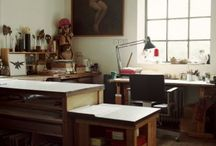 workspaces / by Eliza Jane Curtis | Morris & Essex