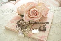 Things I Like  / Softest pinks, lace and cream .. / by Mary House